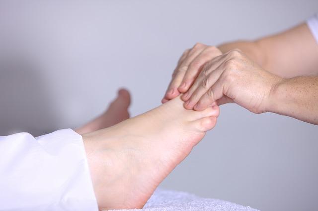 Masajes en los pies