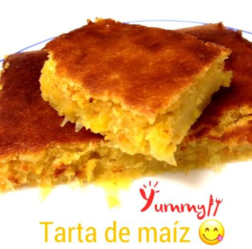 Deliciosa tarta de maiz