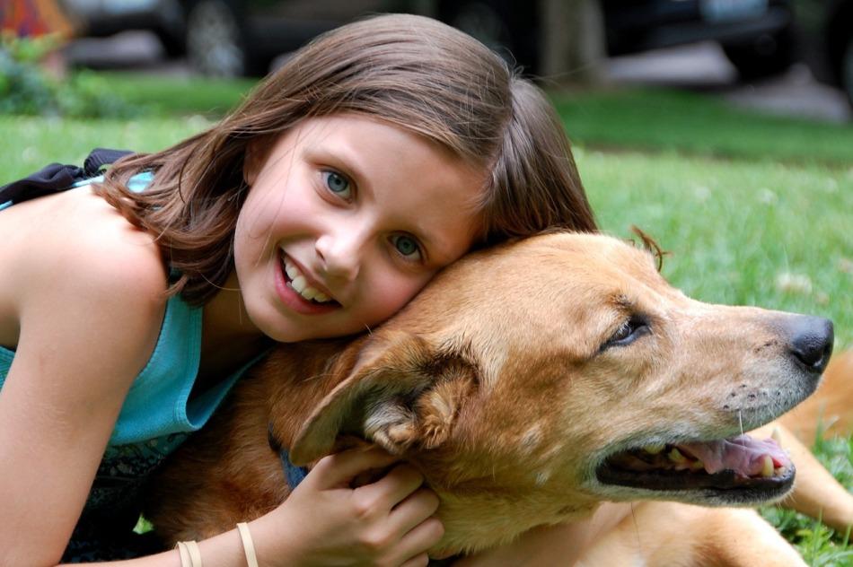 Una mascota estimula a los niños