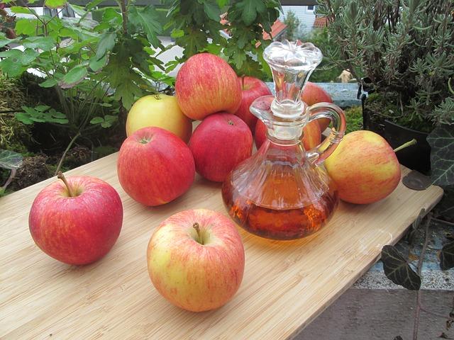 El vinagre de manzana ayuda a eliminar el mal aliento