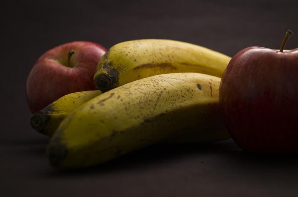plátano y manzana disminuyen la tristeza