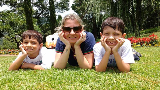 la sonrisa de nuestros hijos nos da mucha calma a las mamas estresadas